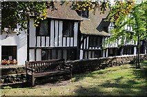 TQ9220 : Houses on Church Square by Philip Halling
