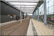 NT1772 : Edinburgh Gateway tram station by Garry Cornes