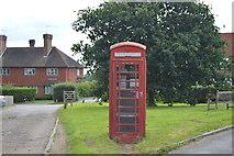 TQ5247 : Telephone Box, Charcott by N Chadwick