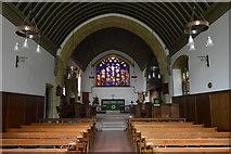 TQ5246 : Church of St Luke - interior by N Chadwick