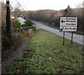 SO6215 : Directions sign, Brierley by Jaggery