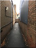 SK4933 : Alley to the sorting office by David Lally