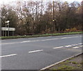 SO6215 : A4136 directions sign facing Pludds Road, Brierley by Jaggery