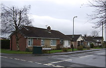SE2853 : Bungalows on Larkfield Road by JThomas