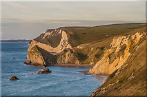 SY8080 : St Oswald's Bay after sunrise by Ian Capper