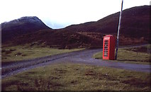 NN3578 : Fersit telephone box by Richard Webb