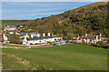 SY8279 : Lulworth Cove village by Ian Capper