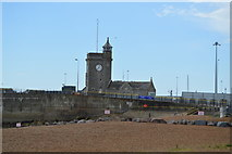 TR3140 : Clock Tower and former Lifeboat House by N Chadwick
