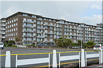 TR3241 : Seafront flats by N Chadwick