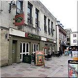 ST1876 : Harvester, Cardiff city centre by Jaggery