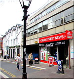 ST1876 : Quay Street News, Cardiff by Jaggery
