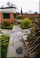 SO9570 : The centre of the Sensory Garden, Sanders Park, Bromsgrove, Worcs by P L Chadwick