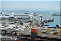 TR3341 : Port of Dover by N Chadwick