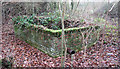 TM3091 : Small sewage settlement tank by Evelyn Simak