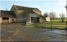 ST8180 : Barn, Acton Turville by Derek Harper