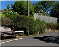 SX9984 : Wooden bench, Longmeadow Road, Lympstone by Jaggery