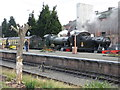 SO8376 : Severn Valley Railway - Kidderminster Station waiting to depart by Chris Allen