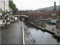 SP0686 : Worcester Bar Footbridge by Shaun Ferguson