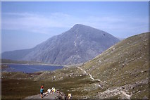 SH6459 : Foot of Idwal Slabs by Richard Webb