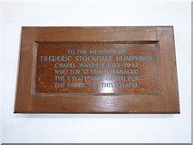 TF6120 : St Nicholas' Chapel, King's Lynn: memorial (28) by Basher Eyre