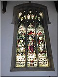 TF6120 : St Nicholas' Chapel, King's Lynn: stained glass window (2) by Basher Eyre