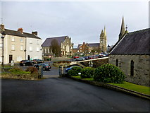 H4472 : View from Trinity Church, John Street, Omagh by Kenneth  Allen
