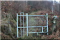 SO2001 : Stile on path up towards Graig Fawr by M J Roscoe