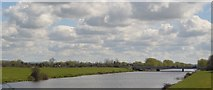 ST3244 : M5 bridge over Huntspill River by N Chadwick