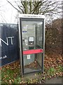 SP8411 : Former KX100 Telephone Box in Wendover Road, Stoke Mandeville by David Hillas