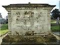 SO8336 : Chest tomb, Longdon churchyard by Philip Halling