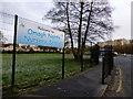 H4573 : Sign, Omagh North Nursery School by Kenneth  Allen