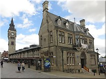 NZ2814 : Market Hall and Clock Tower, Darlington by Graham Robson