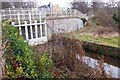 NT5173 : Sluice gates for the mill lade, Haddington by Jim Barton