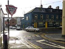 H4472 : Busy along John Street, Omagh by Kenneth  Allen
