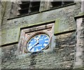 SJ8391 : Christ Church clock (North face) by Gerald England