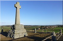 NT8837 : Flodden Memorial by Russel Wills