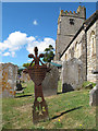 SX8189 : St Mary's church, Dunsford -  Stephens memorial by Stephen Craven