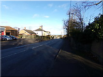 TM3876 : A144 London Road, Halesworth by Adrian Cable