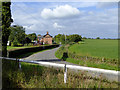 SJ5847 : Pasture and Frith Lane near Wrenbury, Cheshire by Roger  Kidd