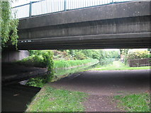 SK0300 : Daw End Bridge again - Walsall, West Midlands by Martin Richard Phelan