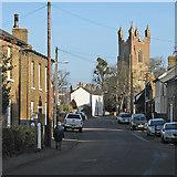 TL4568 : Cottenham High Street in December by John Sutton