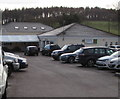 SO6517 : Drybrook Rugby clubhouse, Drybrook by Jaggery