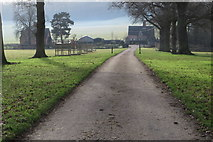 SK1820 : Footpath down to the Old School House by Philip Jeffrey