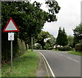 SJ6649 : House Watch Area notice south of Stapeley by Jaggery