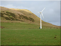 NS2472 : Wind turbine at Cornalees by Thomas Nugent