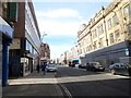 NZ3957 : View down High Street West, Sunderland by Robert Graham