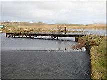 NS2472 : Compensation Reservoir spillway by Thomas Nugent