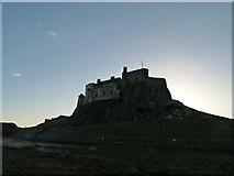 NU1341 : Lindisfarne Castle by Alan Murray-Rust