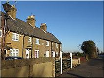 TQ4988 : Crown Cottages, London Road by Marathon