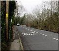 ST2292 : SLOW/ARAF on High Street, Crosskeys by Jaggery